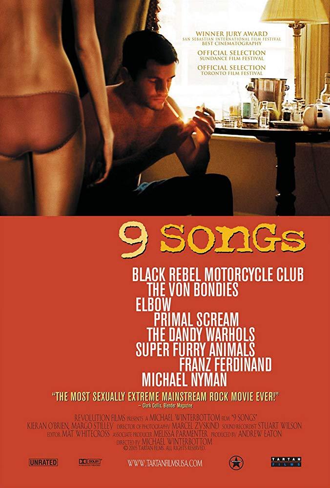مشاهدة فيلم  9 Songs 2004 مترجم للكبار فقط