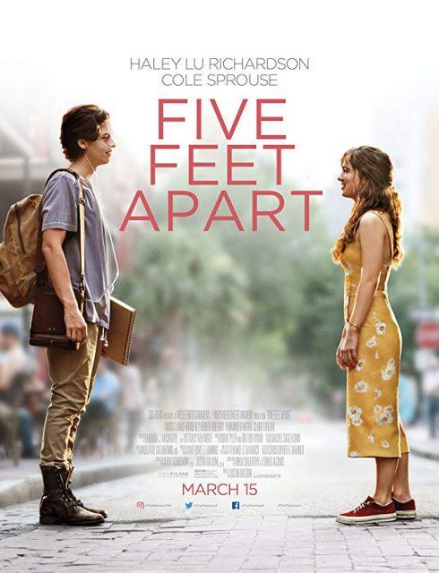 مشاهدة فيلم Five Feet Apart 2019 مترجم