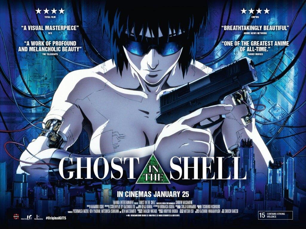 مشاهدة فيلم انمي Ghost in the Shell 1995 مترجم