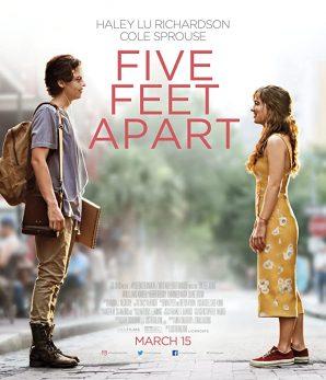 مشاهدة فيلم رومانسي Five Feet Apart 2019 مترجم للكبار
