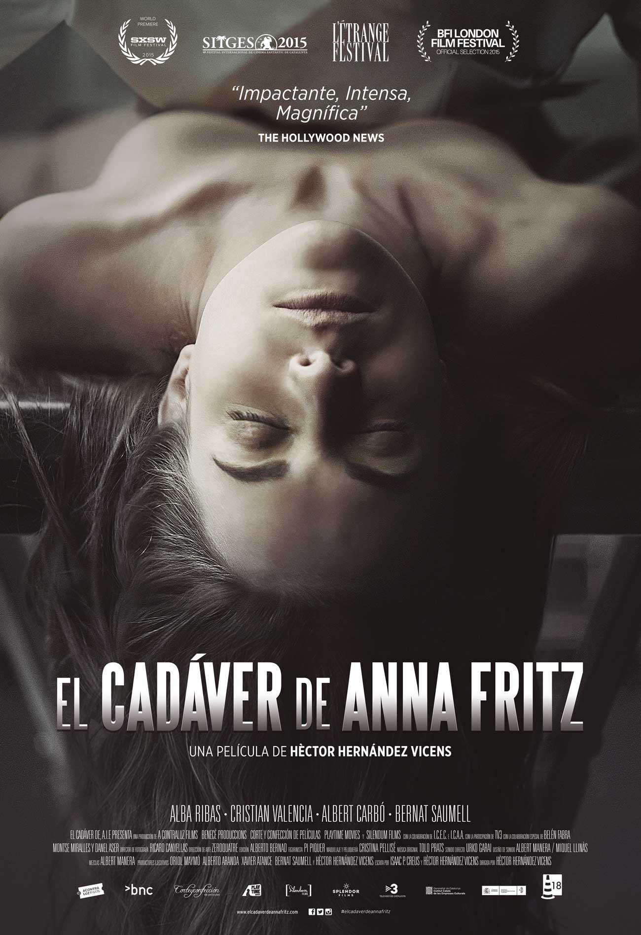 فيلم The Corpse Of Anna Fritz 2015 مترجم للكبار فقط
